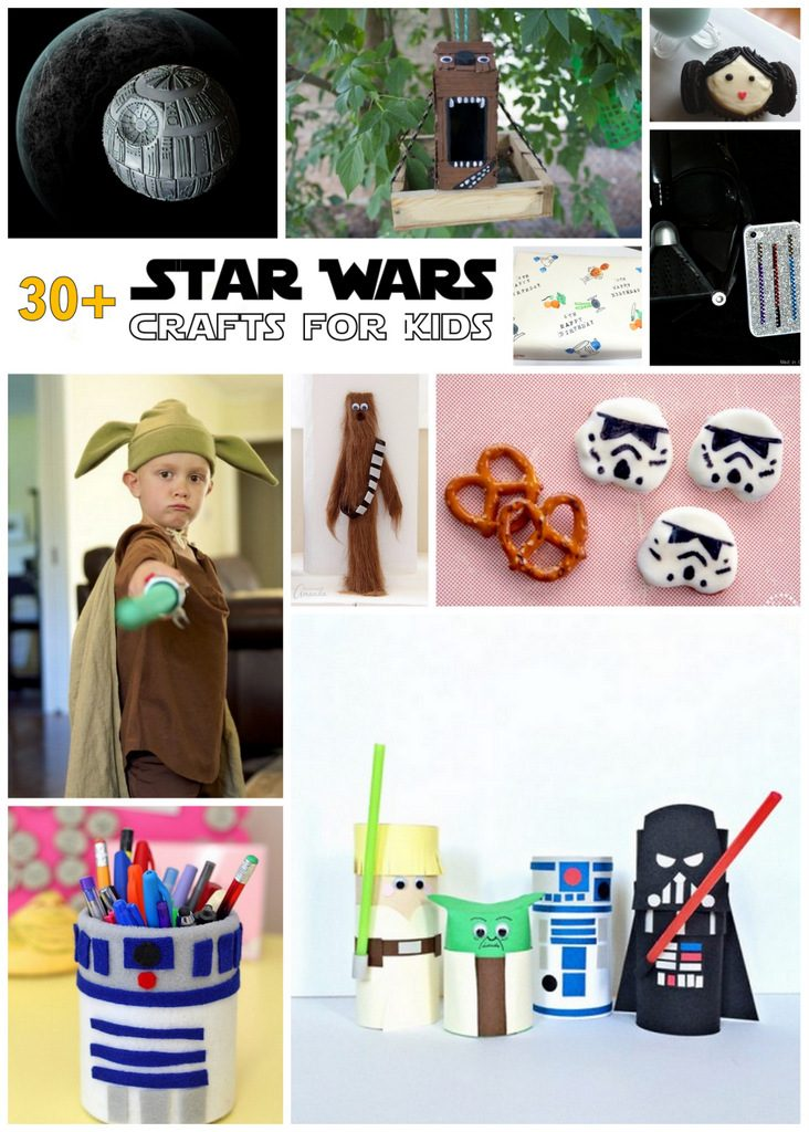 Star Wars Crafts: Over 30 Fun Star Wars Ideas!
