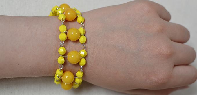 Simple Beaded Bracelet