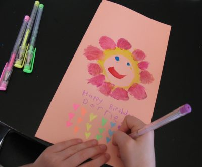 Homemade Birthday Card Fun Family Crafts