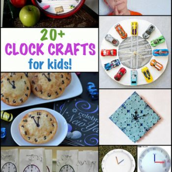 Clock Activities and Crafts for Kids