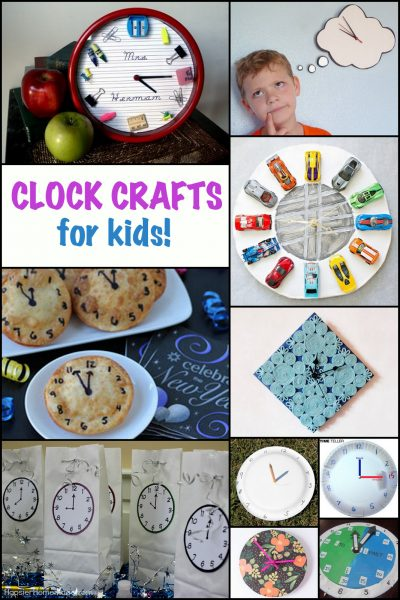 Fun clock activities and crafts for kids. Learn how to tell time, find some tasty clock treats, or even play a game!