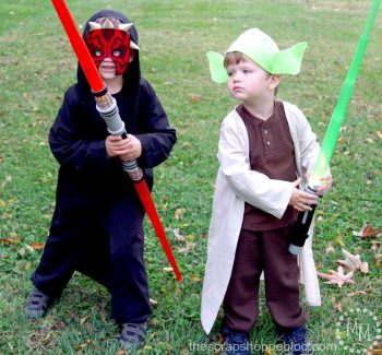 Darth Maul and Yoda Costumes