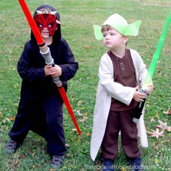 Darth Maul and Yoda Costumes
