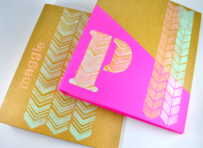 Easy Personalized Notebooks