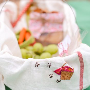 Little Red Riding Hood Embroidered Towels