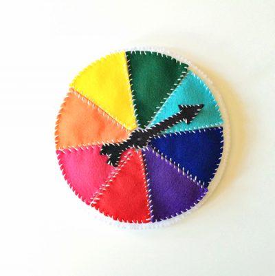 Felt Color Wheel