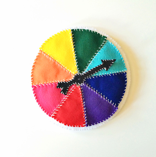 Felt Color Wheel