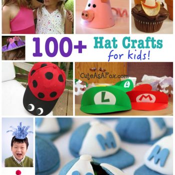 100+ Hat Crafts for Kids