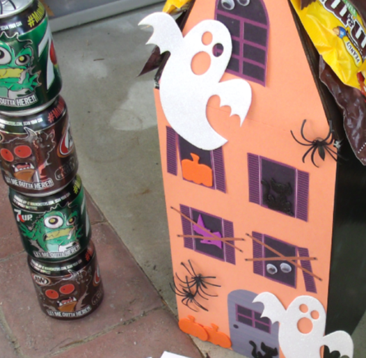Shoe Box Haunted House