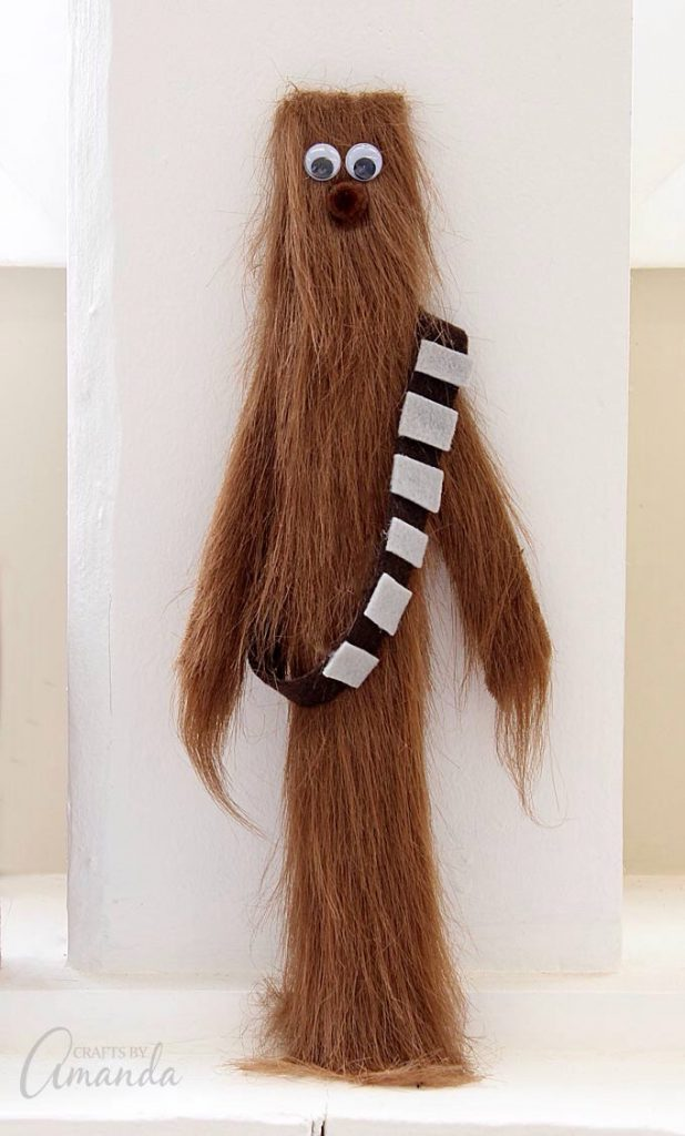 Paint Stick Chewbacca