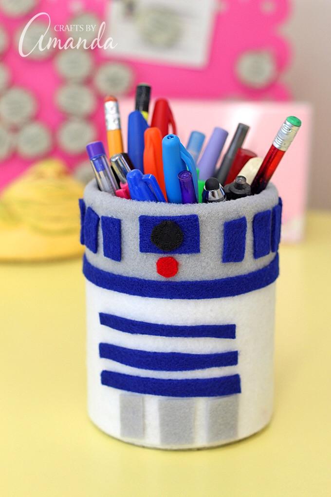 R2-D2 Pencil Holder