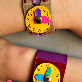 Cardboard Tube Watch Craft
