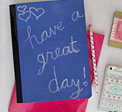Chalkboard Composition Notebook