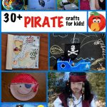 Pirate Crafts for Kids - over 30 pirate craft ideas!