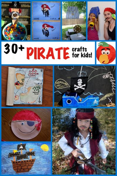 Pirate Crafts For Kids Over 30 Pirate Craft Ideas