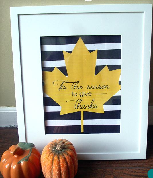 """""""Tis the Season"""" Fall Printable"""
