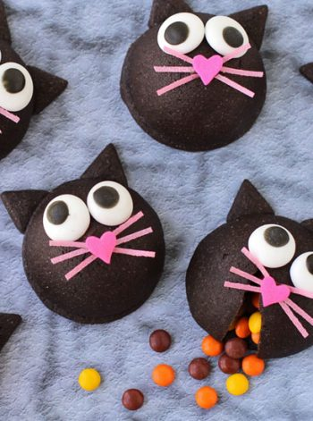 Candy-Filled Black Cat Cookies