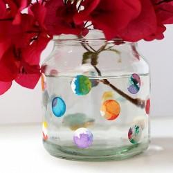 Circle Sticker Vase