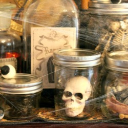 Spooky Lab Jars