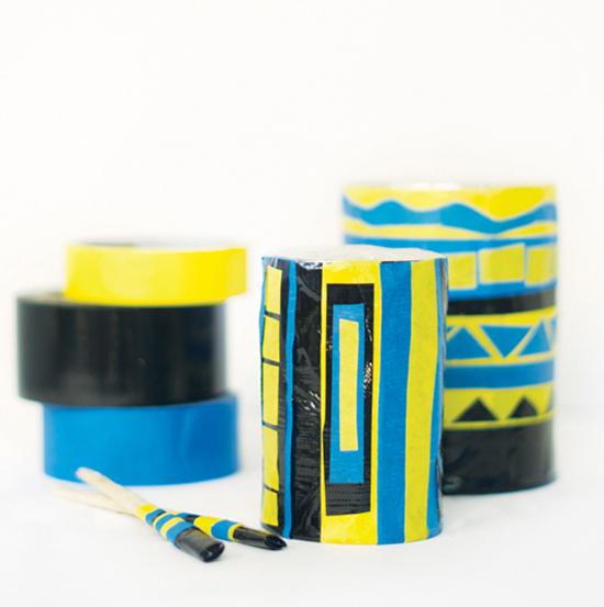 Packing Tape Drum Set
