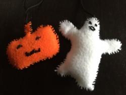 Halloween Felt Ornaments