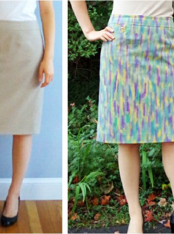 Salvage Stained Clothing with Watercolor Fabric Paint