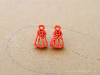 Pasta Earrings
