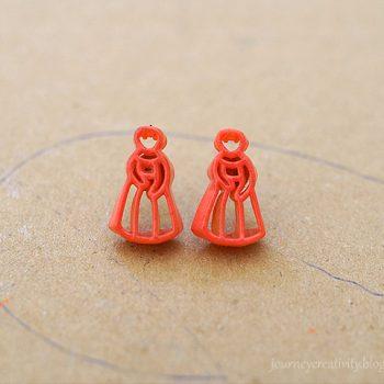 Pasta Earrings