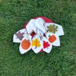 Hand-Painted Fall Napkins