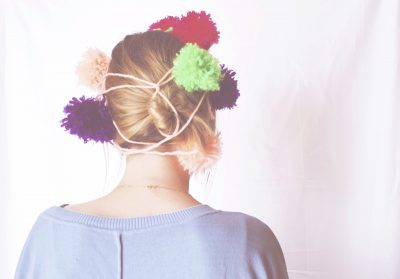 Pom Pom Garland (and Headband)
