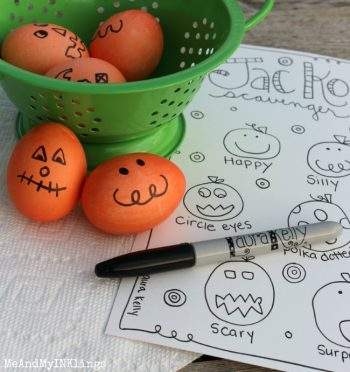 Jack-O Eggs and a Hunt