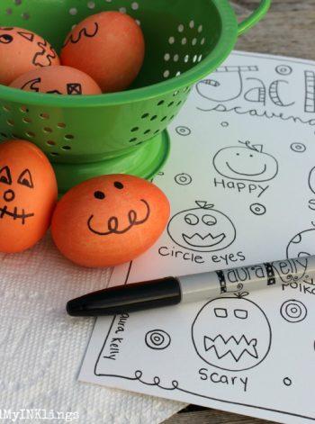 Jack-O Eggs and a Hunt