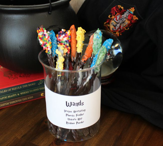 Licorice Magic Wands