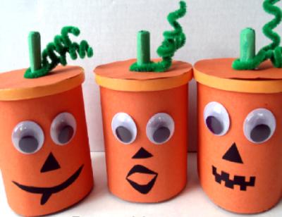Little Pumpkin Snack Cups