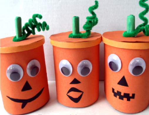 Little Pumpkin Snack Cups