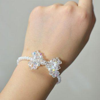 Crystal Bow Bracelet