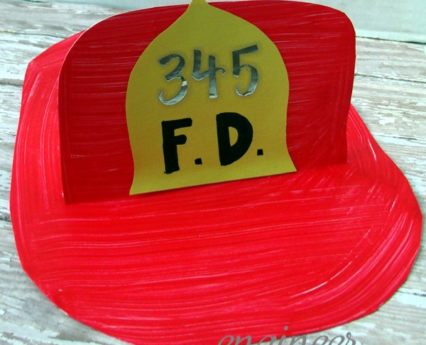 Firefighter Hat | Fun Family Crafts