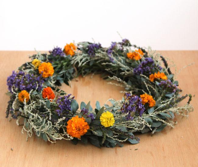 Simple Herb Wreath