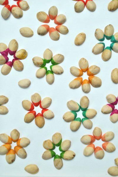 Easy Pistachio Shell Art