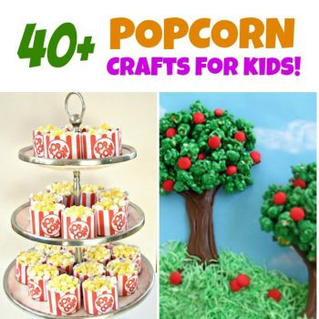 Popcorn Crafts: 40+ Craft Ideas for Kids