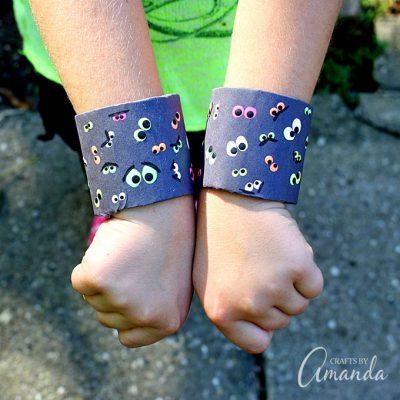 Spooky Eyeball Bracelets