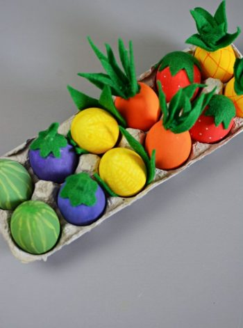 Vegetable Easter Eggs
