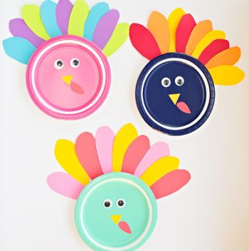 Colorful Turkey Craft