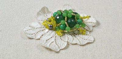 3-D Beaded Tortoise