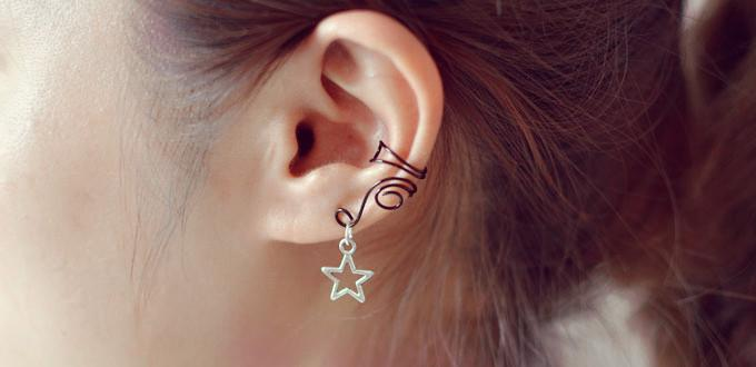 wire ear cuffs for unpierced ears family crafts