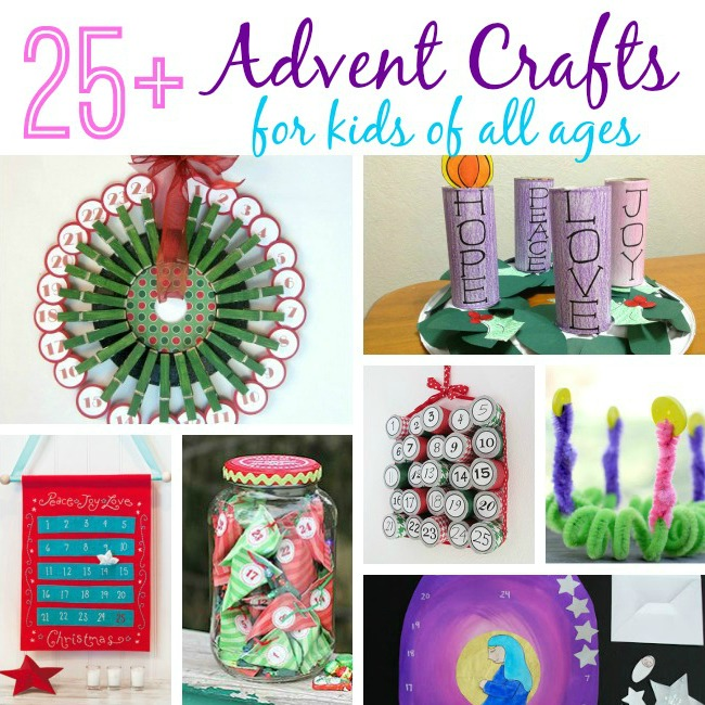 Advent Crafts For Kids Advent Crafts To Countdown The Days