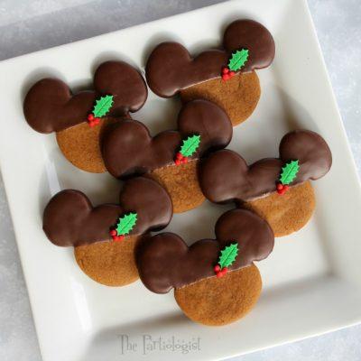 Chocolate Gingerbread Mickeys