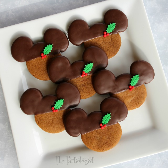 Chocolate Gingerbread Mickeys