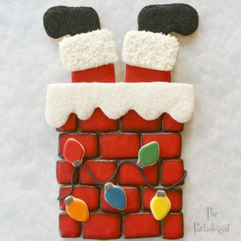 Down the Chimney Cookie Platter