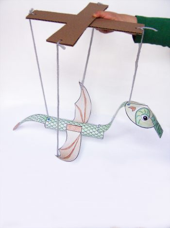 Dragon Marionette Puppet